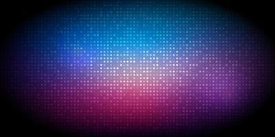 Halftone dots banner design vector