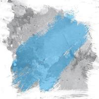 Grunge blue and gray watercolor texture vector