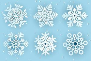Papercut Decorative Snowflakes