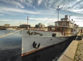 Paddle steamer Freya from Kiel
