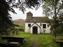 Tiny St.Mary The Virgin Church at Cape-Y-Ffin photo