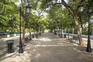Sidewalk in old San Juan