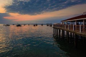 Sunset Stone Town Zanzibar photo