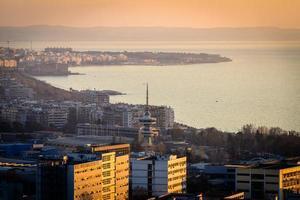 View of Thessaloniki Greece