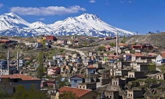 Ilhara village and mount Hasan, Turkey