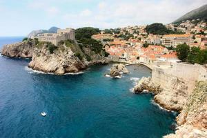 Dubrovnik rocky coastline