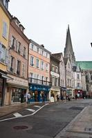 Old part of Chartres (France)