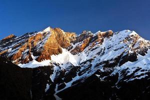 Himalaya Mountain landscape in Ladakh, India photo