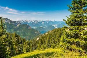 Beautiful Landscape in Allgäu -  Alps, Tegelberg photo