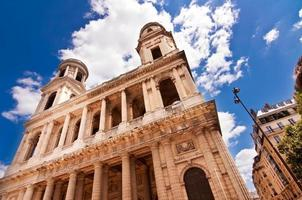 Saint Sulpice church, Paris France
