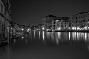 Venezia Long exposure By Night. photo