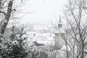 Landsberg am Lech in the winter photo