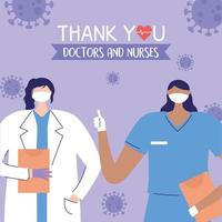 Greeting and gratitude composition for health care workers
