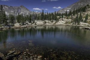 Rocky Shore of Castle Lake photo