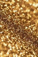 bokeh dorado brillante