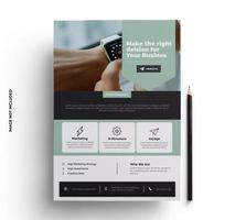 Green, Black and Gray Business Brochure Template