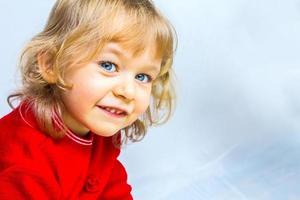 Small beauty girl photo