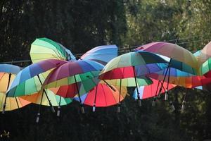techo de paraguas foto