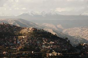 La Paz City - Bolivia photo