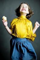 Best Cupcake Ever! Little Girl Portraits photo