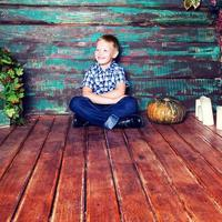 Portrait of a boy photo