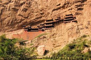 Hanging monastery temple near Datong, China