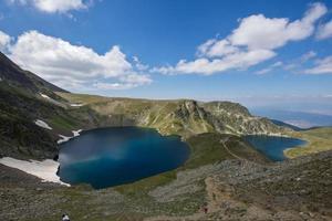The Eye and The Kidney Lakes, The Seven Rila Lakes, Rila Mountain photo