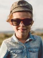 Hipster little girl