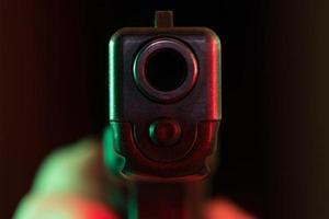 pistola a quemarropa foto