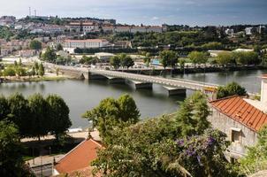City panorama of Coimbra