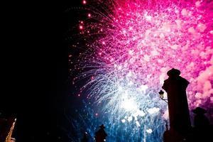 Fireworks castle VII