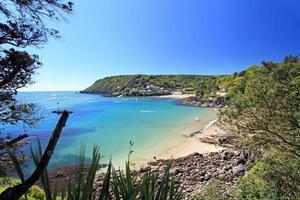 Salcombe Beach Devon Inglaterra
