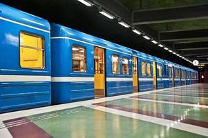 train in Stockholm photo