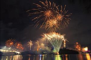 fogos de artifício em Brisbane - 2014
