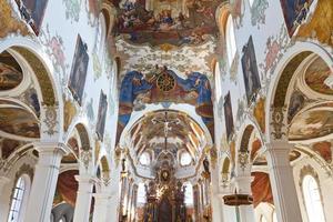 Baroque Church in Biberach, Germany