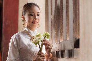 Lanna woman photo