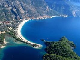 Praia de Olu Deniz Belcekiz, Turquia