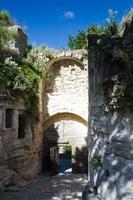Medieval gate of Les Baux de Provence photo