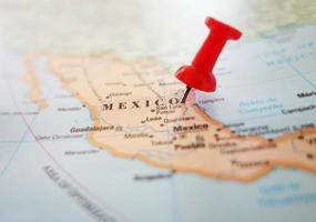 Mexico map pin