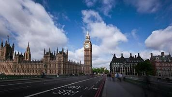 lapso de tempo do big ben Londres
