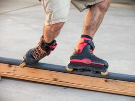 patinador en línea