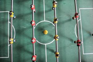 Soccer Brazil shirts Tabletop Foosball football in team colors photo