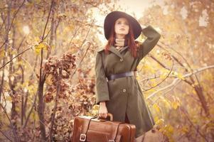 mulher com bolsa