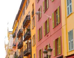 Nizza, Costa Azzurra. Centro storico photo