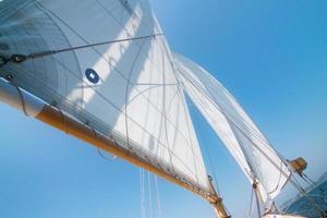 Sailing on a Sailboat photo