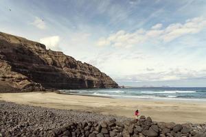 Lanzarote, spiaggia, Playa Blanca