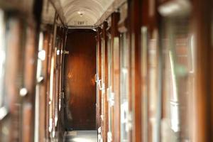 Vintage train carriage
