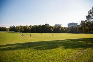 parque en munich en otoño