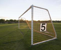 Soccer Net on field