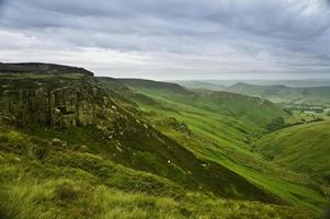 Beautiful landscape of Peak District National Park in UK